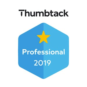 Thumbtack Professional 2019 Badge